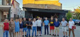 Miguel Ángel Morales visitó a la agrupación socialista de Peraleda de San Román