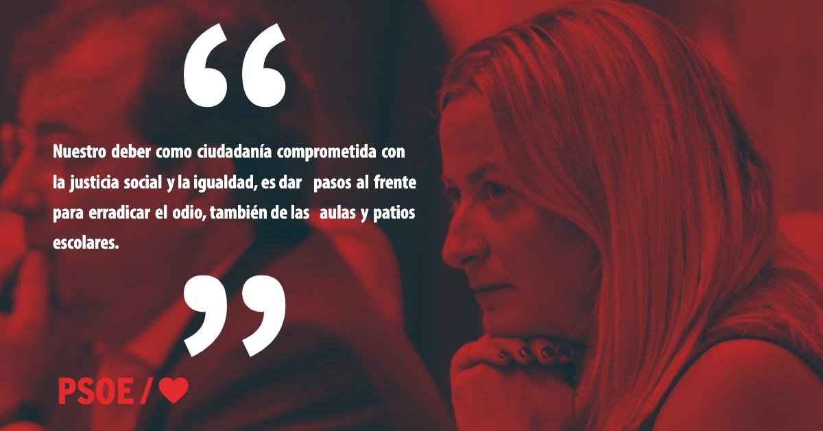 Blanca Martín: «Sin cuartel contra el odio»