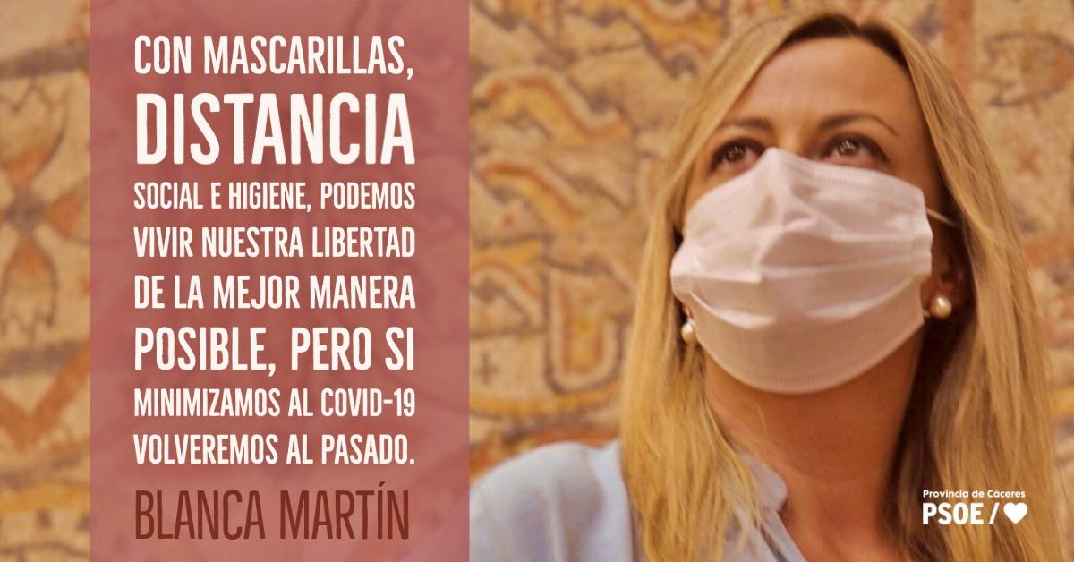 Blanca Martín: «Recuperar nuestra vida»