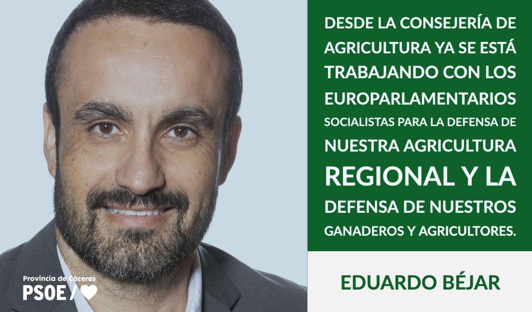Eduardo Béjar: «De la granja a la mesa»
