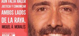 Miguel Á. Morales:  «No hay nada más efectivo que eliminar fronteras y cohesionar territorios para vencer a la despoblación»