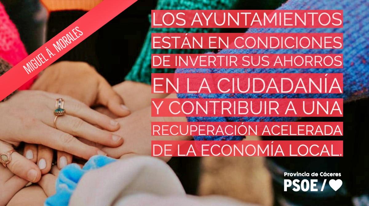 Miguel Á. Morales: «Remanentes a la calle»
