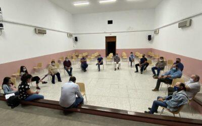 Miguel Ángel Morales se reunió con la militancia del PSOE de Alcuéscar