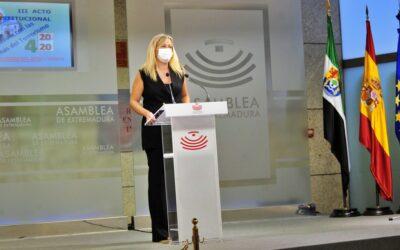 Blanca Martín: «Es una obligación ética, moral y política salvaguardar la memoria de las víctimas del terrorismo»
