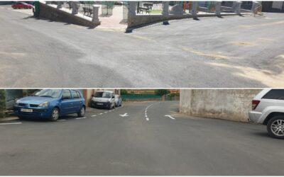 La Diputación de Cáceres finaliza las obras de pavimentación y redes en Deleitosa