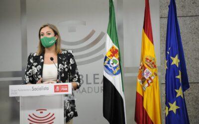 """Lara Garlito: """"Extremadura no se merece tener la peor oposición en los peores momentos»"""