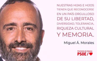 Miguel Á. Morales: «Memoria para el futuro»