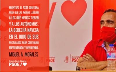 Miguel Á. Morales: «Construir lo que vendrá»