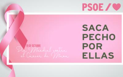 Blanca Martín destaca la importancia de potenciar la detección precoz para luchar contra el cáncer de mama