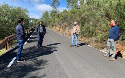 Finalizadas las obras de la carretera de Las Mestas hacia La Alberca, por donde pasará La Vuelta