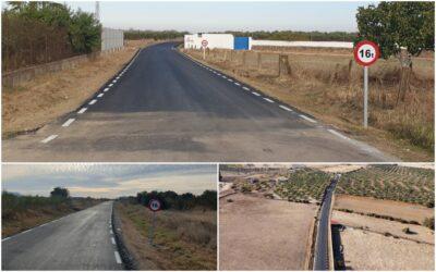 Diputación de Cáceres finaliza las obras de reparación de caminos en Alcuéscar