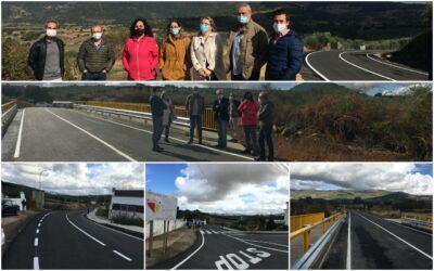 Finalizadas las obras de la carretera que une Logrosán con Berzocana