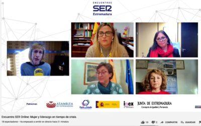 Blanca Martín destaca que la crisis provocada por la Covid-19 no puede justificar que se den pasos atrás en materia de igualdad