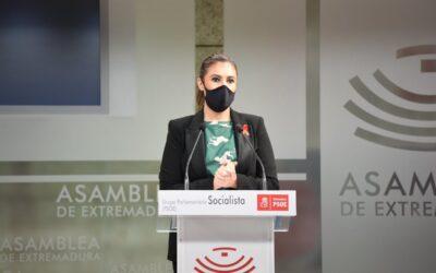 """Lara Garlito: """"Los presupuestos impulsan las políticas sociales y de empleo para Extremadura"""""""