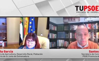 Begoña García: «Queremos una PAC redistributiva para que nadie gane por encima de 100 mil euros»