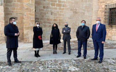 Blanca Martín valora el trabajo de Charo Cordero al frente de la Diputación de Cáceres y confía en la labor que realizará el nuevo equipo de gobierno