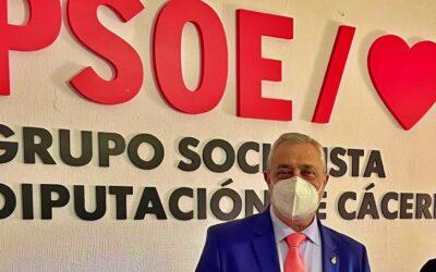 Carlos Carlos: «Corresponderé con trabajo la confianza del PSOE en mí»