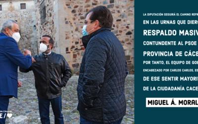 Miguel Á. Morales: «Municipalistas contra la pandemia»