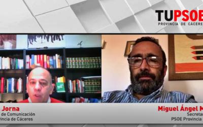 Miguel Á. Morales: «La muerte de Charo Cordero y la pandemia han marcado el 2020»