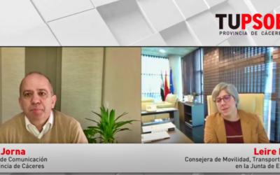 Leire Iglesias: «En 2021 llegarán 300 millones de euros para el tren extremeño»