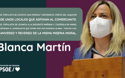 Blanca Martín: «La retórica del populismo»