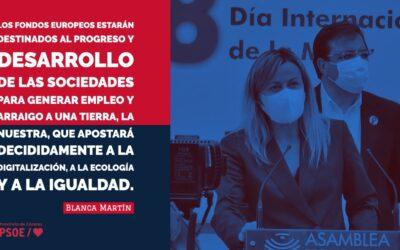 Blanca Martín: «Fondos europeos para la Igualdad»