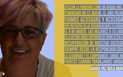 María Paz Ávila Muñoz: «Somos más fuertes cuando trabajamos unidas» #8M
