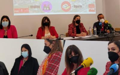 """El PSOE defiende la apuesta de los Presupuestos por Navalmoral de la Mata y el """"excepcional"""" trabajo de su alcaldesa"""