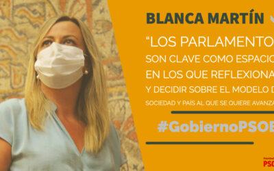 Blanca Martín asume que «si los desafíos son globales, las respuestas también deben serlo»