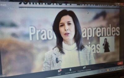 Esther Gutiérrez anuncia la inversión de 7,2 millones de euros en FP