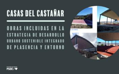 Las pistas polideportivas de Casas del Castañar se adecúan para uso complementario
