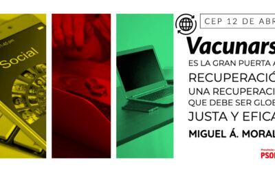 """Miguel Á. Morales: """"Vacunarse es la gran puerta a la recuperación social y económica"""""""