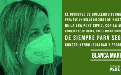 Blanca Martín: «Estado de tranquilidad»
