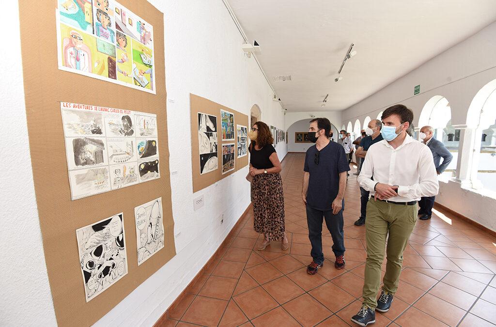 """Los claustros del San Francisco se transforman en espacios de arte con las obras de los alumnos de BB.AA """"Eulogio Blasco"""""""