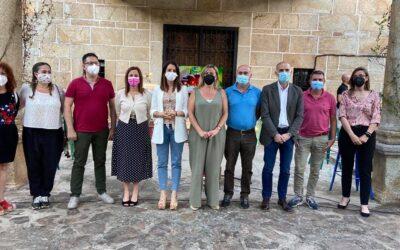 Blanca Martín destaca el trabajo de los agricultores extremeños en la lucha contra la Covid-19