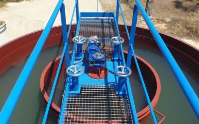 Finalizadas las obras en la Estación de Agua Potable de Oliva de Plasencia