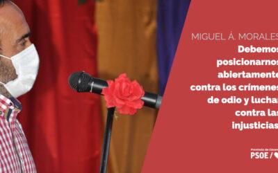 """Miguel Á. Morales: """"Cualquier persona en este país debería sentir que las instituciones judiciales les protegen, y más si se trata de menores de edad"""""""