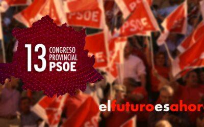 El PSOE de la provincia de Cáceres celebrará su 13º Congreso el 6 de noviembre