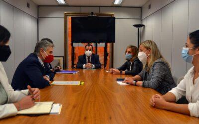 Blanca Martín se reunió con la Delegación de Extremadura en Bruselas