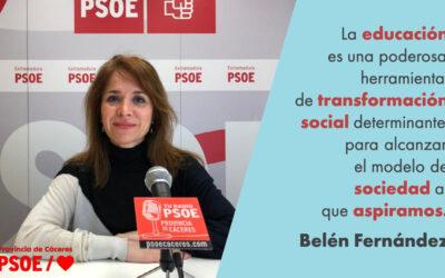 Belén Fernández: «La mala educación»