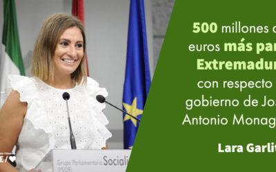 Lara Garlito: «La negociación y sus frutos»