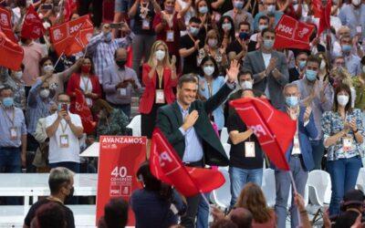 Pedro Sánchez: «El PSOE es un partido imprescindible para que España avance»