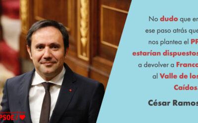 César Ramos: «Un Congreso para afrontar el futuro sin complejos»